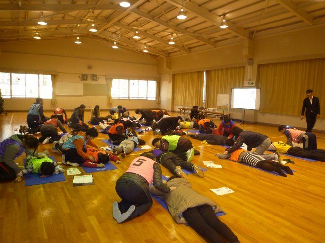 2015年名古屋市立中央高等学校での講習会